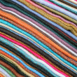 Linens in Otavalo — Stock Photo
