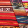 Textiles at the Market — Stock Photo