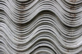 Curved Roofing Material — Stock Photo