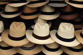 Panama Hats — Stock Photo