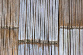 Bamboo Wall in a Shanty — Stock Photo