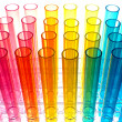 Laboratory Test Tubes in Science Research Lab - Stock Photo