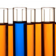Test Tubes in Science Research Lab — Stock Photo