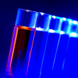 Laboratory Test Tubes in Science Research Lab — Stock Photo #12224369