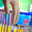 Test Tubes in Science Research Lab — Stock Photo #12224491