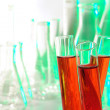Laboratory Test Tubes in Science Research Lab — Stock Photo