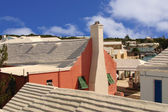 St. George's Bermuda rooftops — Stock Photo