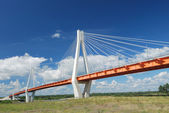 Bridge over river — Stock Photo