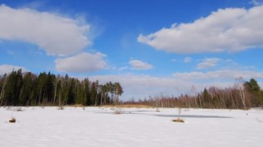 Zima bagno — Wideo stockowe