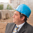 Stock Photo: Director of construction site