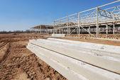 Construction of shopping center — Stock Photo