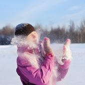 Mujeres de invierno — Foto de Stock