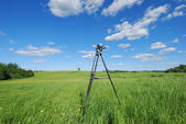 Videography of summer landscape — Stock Photo
