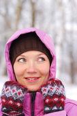 Зимние женщины — Стоковое фото