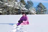 Paseo de invierno — Foto de Stock