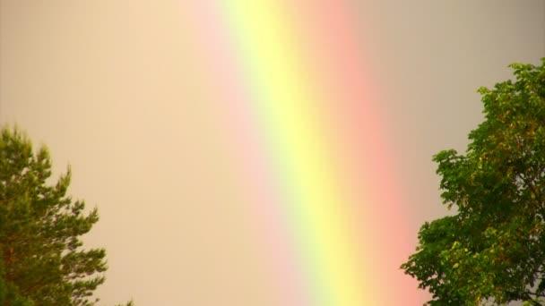 Fenómeno de arco iris — Vídeo de stock