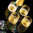 Champagne glass — Stock Photo #12824809