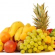 Colorful group of fresh fruits — Stock Photo