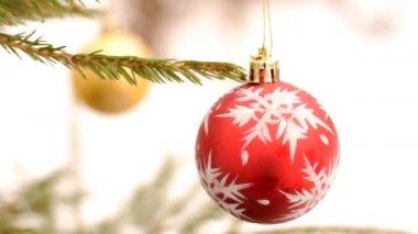 クリスマスと新年の飾り — ストックビデオ