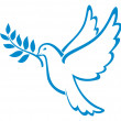 Dove of peace — Stock Vector #12677263