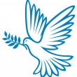 Dove of peace — Stock vektor