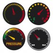 Royalty-Free Stock Vector Image: Speedometers