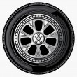 Vetorial Stock : Vector wheel