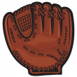 Catcher glove - Stock Vector