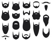 Iconos de máscara — Vector de stock
