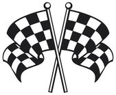 Race flag — Vettoriale Stock