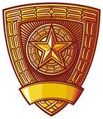 Stemma sovietico — Vettoriale Stock