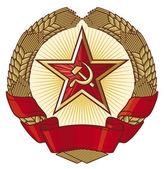 Soviet emblem — Stock Vector