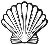 Seashell — Stock Vector