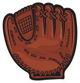 Catcher glove — Stock Vector