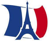Eiffel Tower design — Stock Vector