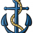 Stock Vector: Anchor