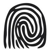 手指打印 — 图库矢量图片