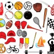 Stock Vector: Big sports collection