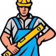 Construction worker — Stock Vector #26762313