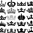 Crown collection — Stock Vector #26762339