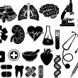 Royalty-Free Stock Vectorielle: Medical icon set