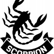 Stock Vector: Scorpion