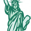 Statue of Liberty — Stock Vector #26764343