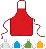 Kitchen apron — Stock Vector