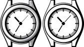 Wrist watch — Stock Vector