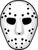 Hockey mask — Stock Vector