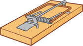 Mousetrap — Stock Vector