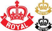 Royal — Stock Vector