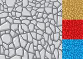 Stones pattern — Stock Vector