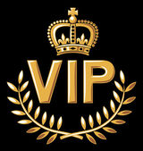 Vip design — Stock Vector